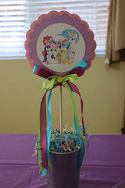 centerpiece ideas vitti s party pony and pony party