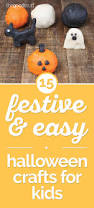 halloween craft for kindergarten 15 festive u0026 easy halloween crafts for kids thegoodstuff