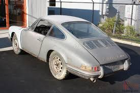 porsche spyder 1965 porsche 911 w kardex documented factory replacement 1968 911s motor