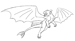 hiccup and toothless coloring pages contegri com