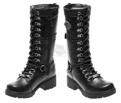 best women s motorcycle riding boots 83987 harley davidson womens harland black leather high cut