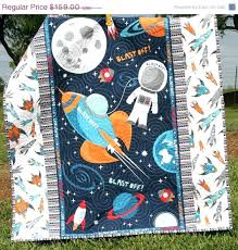 Duvet Baby Outer Space Single Duvet Cover Set Space Quilt Baby Boy Blast Off