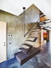Floating Stairs Design House In Estoril Frederico Valsassina Arquitectos Floating