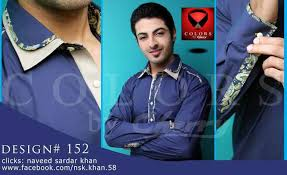 colors by cheery shalwar kameez collection 2014 for men 3