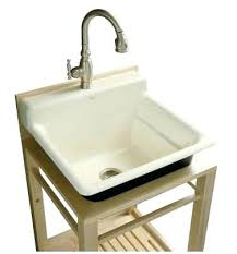 kohler bayview wood stand utility sink utility sink in bathroom a purchase kohler bayview wood stand