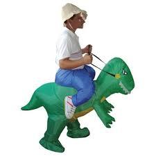 Inflatable Halloween Costume Dinosaur Inflatable Costume 200cm Fancy Dress Costume Waterproof