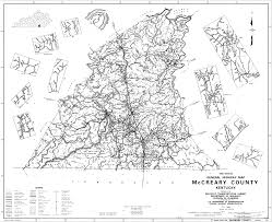 Virginia County Map With Cities State And County Maps Of Kentucky