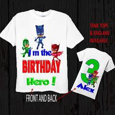 pj mask birthday shirt pj mask shirt tank