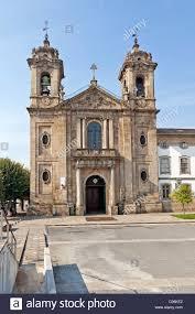 populo church in the city of braga minho portugal mannerist