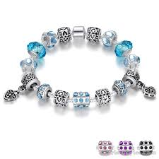 glass bead bracelet charms images Murano glass beads charm bracelet ba049134cb wrist styles jpg