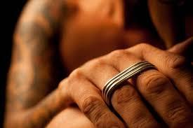 just men rings ring ring statement ring silver men ring