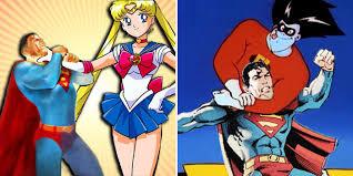 cartoon superheroes destroy superman cbr