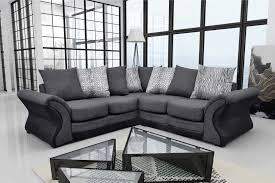 grey fabric corner sofa montana brand new fabric corner sofa living room suite black grey