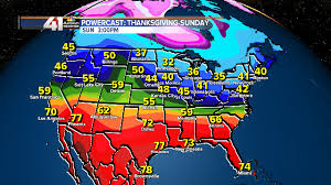 thanksgiving day by day weather 2020