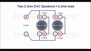 wiring diagram for subs on trend 4 ohm dual voice coil subwoofer