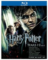 Harry Potter Movies by Amazon Com Harry Potter Years 1 7 Part 1 Gift Set Blu Ray