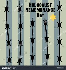 holocaust remembrance day january 27 vector stock vector 351313955