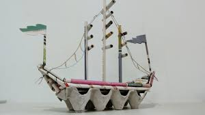 diy newspaper crafts how to make pirate ship youtube