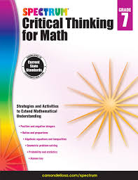 spectrum critical thinking for math grade 7 spectrum