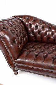 Vintage Chesterfield Leather Sofa Vintage Regency Style Chesterfield Leather Sofa