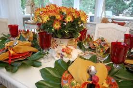 Wine Glass Flower Vase Dining Room Flower Centerpiece In White Vase Next To Red Goblet
