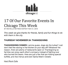 chicago thanksgiving dinner hard rock cafe chicago chicago public relations firm molise pr