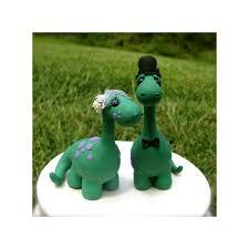 dinosaur wedding cake topper custom dinosaur and groom wedding cake toppers