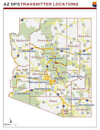 Arizona Area Code Map by Arizona Dps Transmitter Location Map The Radioreference Com Forums