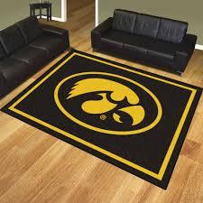 College Rug Of Iowa Hawkeyes Area Rug Nylon 8 U0027 X 10 U0027