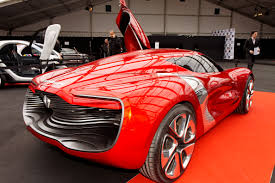 Wallpaper Renault Dezir Electric Cars Renault Concept Supercar