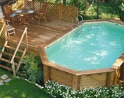 rivestimento in legno per piscine fuori terra prodotti piscine fuoriterra