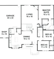 open floor house plans two story 1600 sq ft floor plans manufactured home floor plan the o model 2