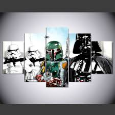 Star Wars Home Decorations by Compare Prices On Star Wars Wall Art Online Shopping Buy Low