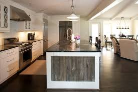 reclaimed wood kitchen island reclaimed wood kitchen island transitional kitchen companies
