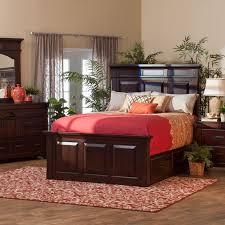 lodge storage bedroom collection queen storage bed dresser