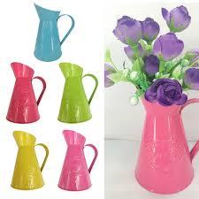 Jug Vases New Sale Shabby Chic Retro Metal Jug Vase Flower Pitcher