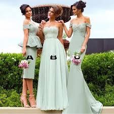 2017 best mint green bridesmaid dresses short long wedding guest