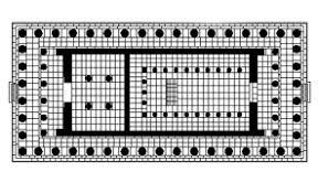 floor plan of the parthenon parthenonplan jpeg