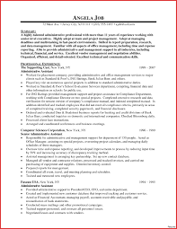 executive assistant resume template administrative assistant objective resume sles statement