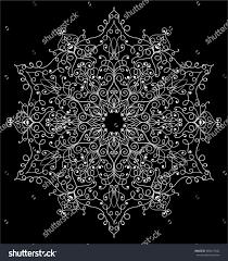 mandala decorative vector round ornament antistress stock vector