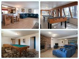 cozy 7 bed tahoe cabin pool table game ro vrbo