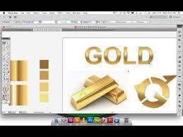 tutorial illustrator gradient adobe illustrator gradient gold text logo awesome illustrator