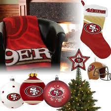 christmas gifts for 49ers fans san francisco 49ers christmas ornaments san francisco 49ers