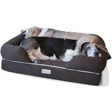 barksbar large gray orthopedic dog bed review dog beds for large