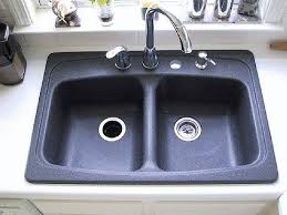 black granite composite sink how to clean a kitchen sink a complete guide