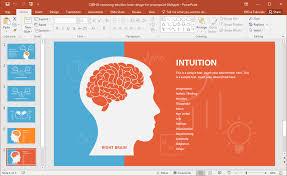 templates for powerpoint brain left brain vs right brain powerpoint template