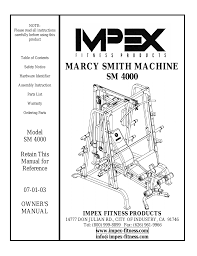 impex sm 4000 user manual 28 pages