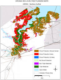 Northern Virginia Map Sea Level Rise Planning Maps