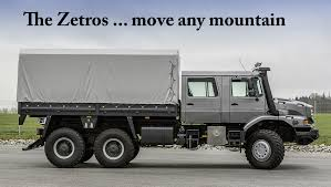 mercedes 6 wheel pickup top of the pile u2026 the zetros by mercedes everything 4 4
