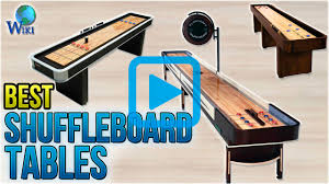 playcraft woodbridge espresso 9 shuffleboard table top 9 shuffleboard tables of 2018 video review